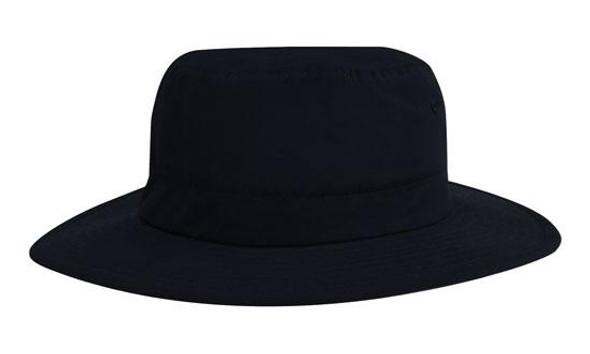 Microfibre Adjustable Bucket Hat HW 4134