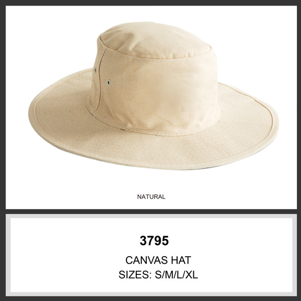 Canvas Hat HW 3795