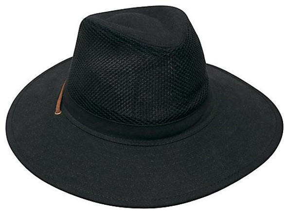 Collapsible Cotton Twill & Soft Mesh Hat HW 4277