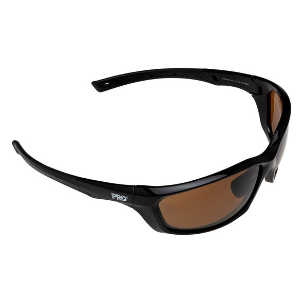 SURGE BROWN POLARISED SAFETY GLASSES :  2219