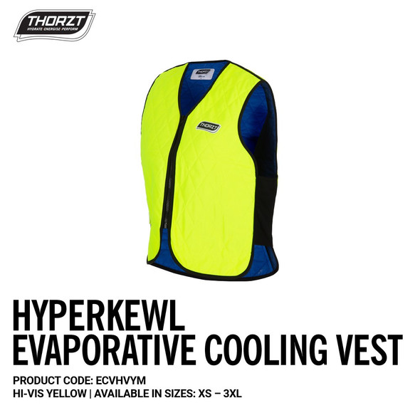 HYPERKEWL EVAPORATIVE COOLING VEST : ECVH