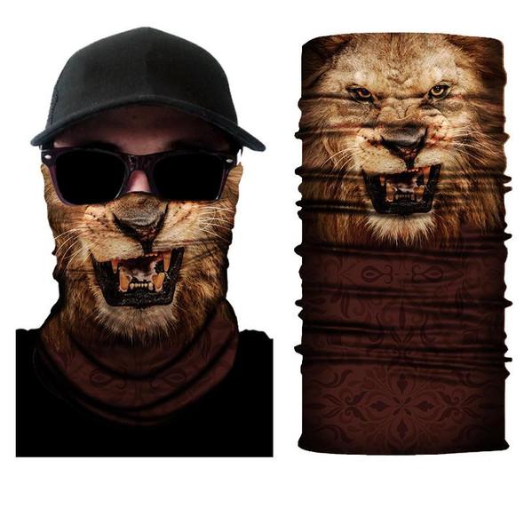 Simba Bandana face mask Neck Gaiter Lion SIM91