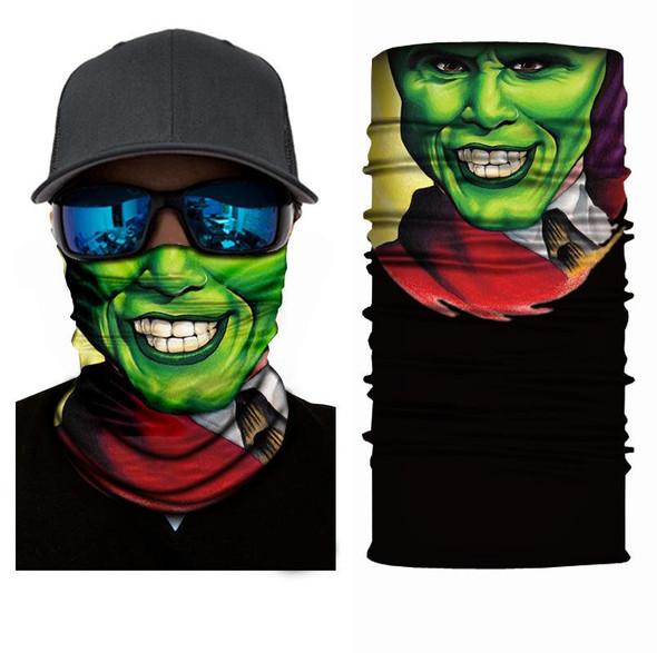 Simba Bandana face mask Neck Gaiter Green Man  S76