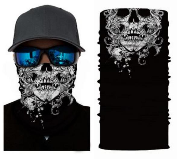 Simba Bandana face mask Neck Gaiter Skull 2 S14