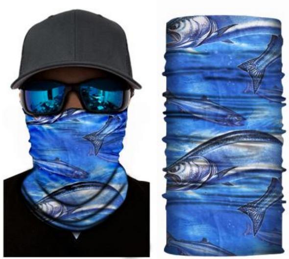 Simba Bandana face mask Neck Gaiter Sea Fish S40