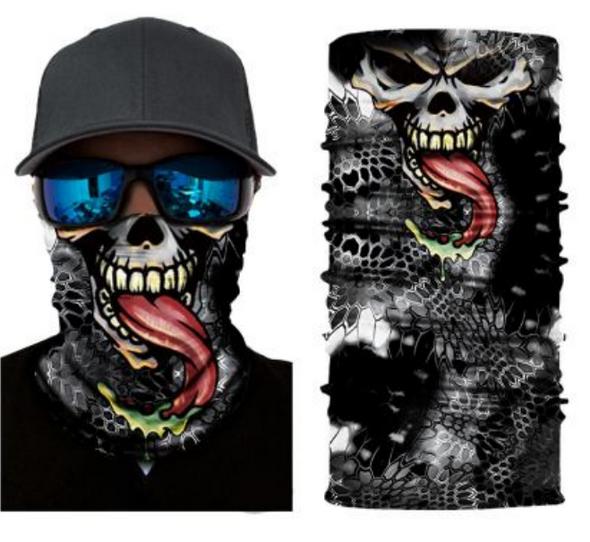 Simba Bandana face mask Neck Gaiter Alien Skull Scales S88