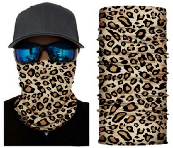 Simba Bandana face mask Neck Gaiter Cheetah Spot S167