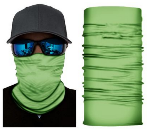 Simba Bandana face mask Neck Gaiter Hi-vis Lime S170