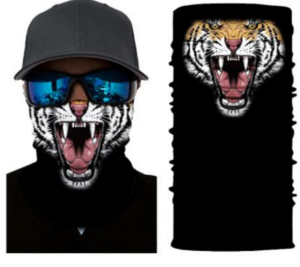 Simba Bandana face mask Neck Gaiter Tiger Roar S258