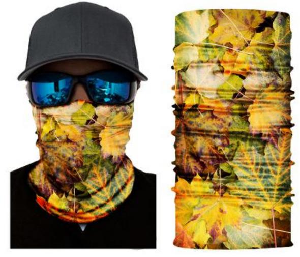 Simba Bandana face mask Neck Gaiter Arboreal Leaf S433