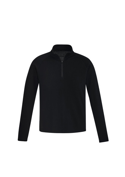 ZT766  MENS MERINO WOOL MID-LAYER PULLOVER