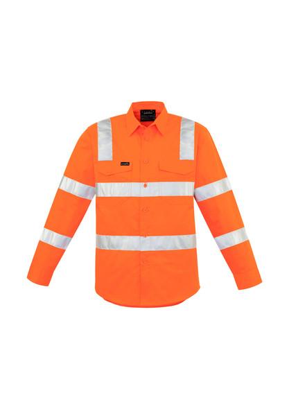 ZW680 Mens Bio Motion Vic Rail Vented Lightweight Shirt