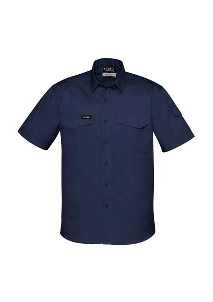 ZW405  MENS RUGGED COOLING MENS S/S SHIRT