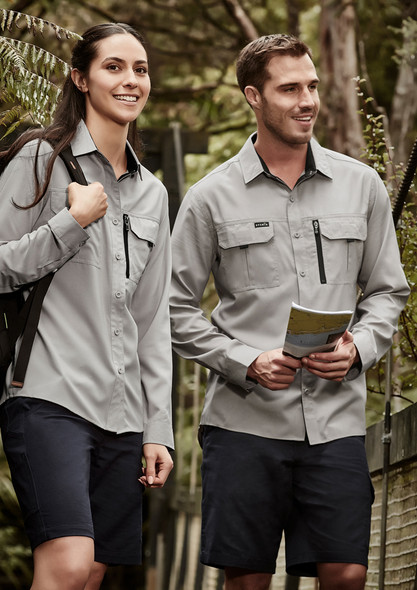ZW460  MENS OUTDOOR L/S SHIRT