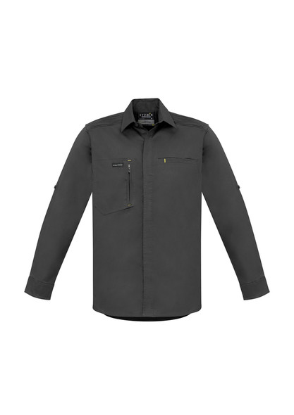 ZW350  MENS STREETWORX L/S STRETCH SHIRT