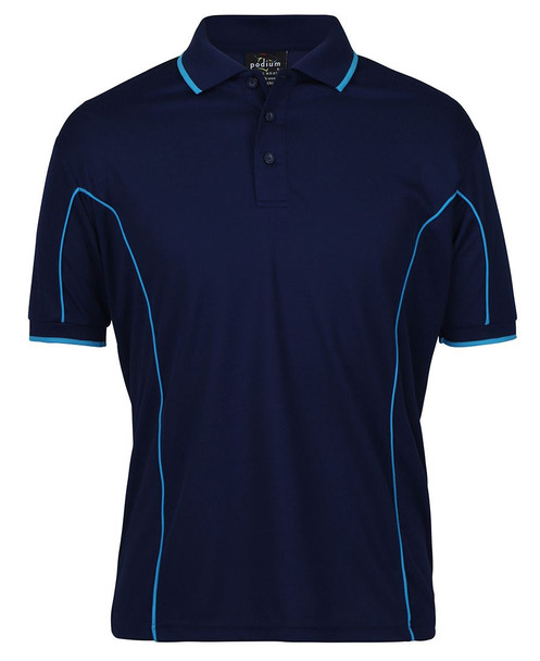 S/S PIPING POLO 7PIP