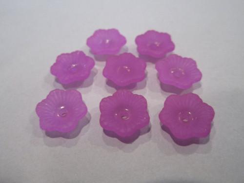 Flower 11mm lucite beads