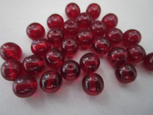 Round Czech beads