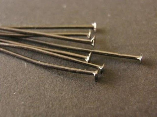 Gun metal 50mm head pin
