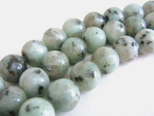 10mm round sesame jasper gemstone beads