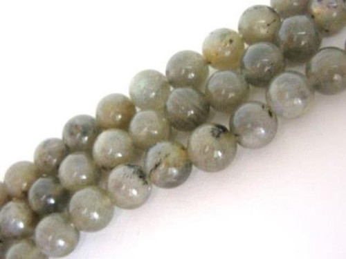 Labradorite 8mm Round Beads Gemstone