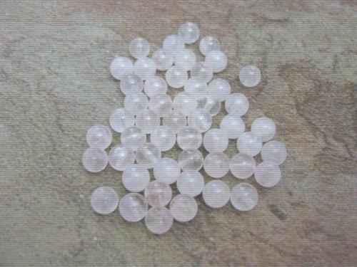 Rose quartz 6mm round gemstone beads