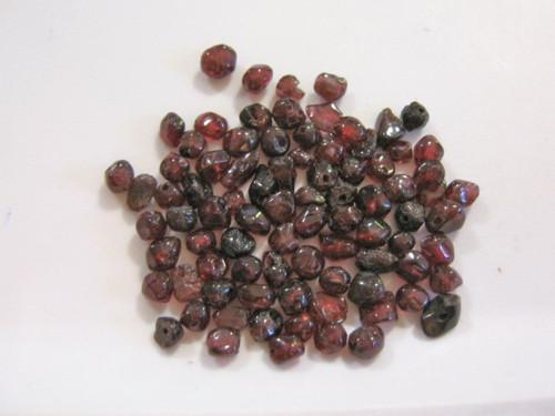 Garnet Beads Small Nugget Chips Gemstone