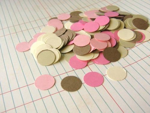 Confetti circle die cuts 5/8 inch