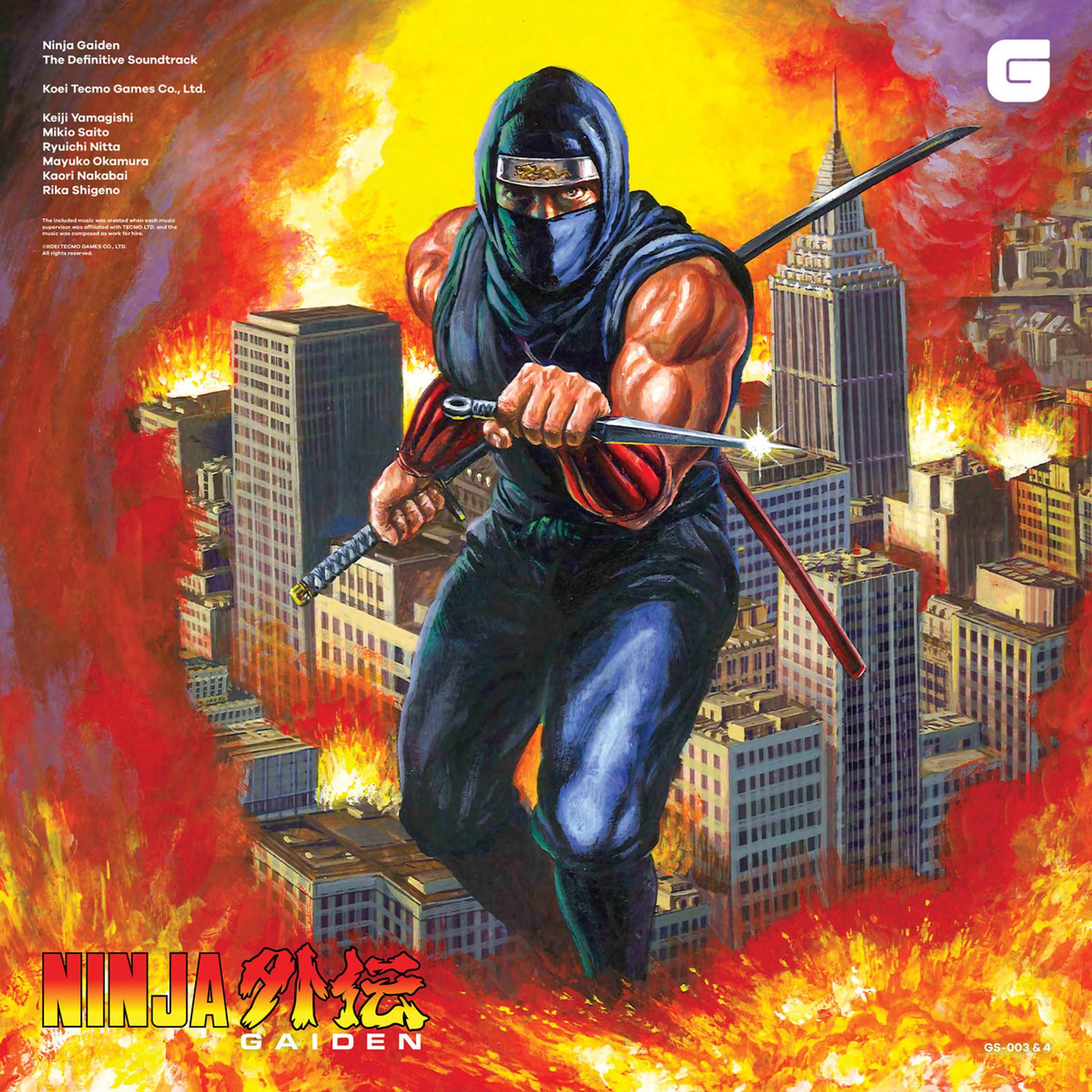 V A Ninja Gaiden The Definitive Soundtrack Vol 1 2 4lp Boxset