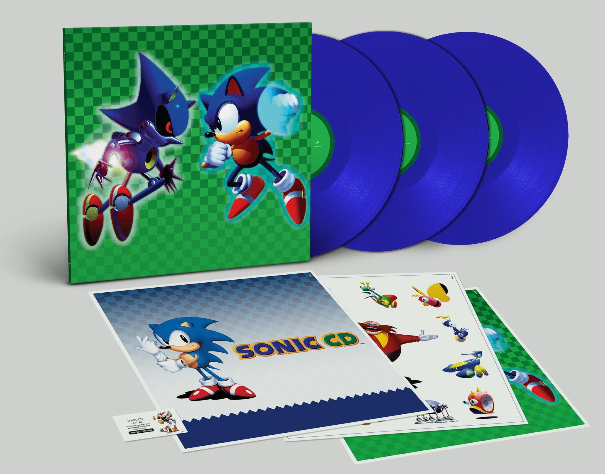 NAOFUMI HATAYA AND MASFUMI OGATA: Sonic CD (aka Sonic The