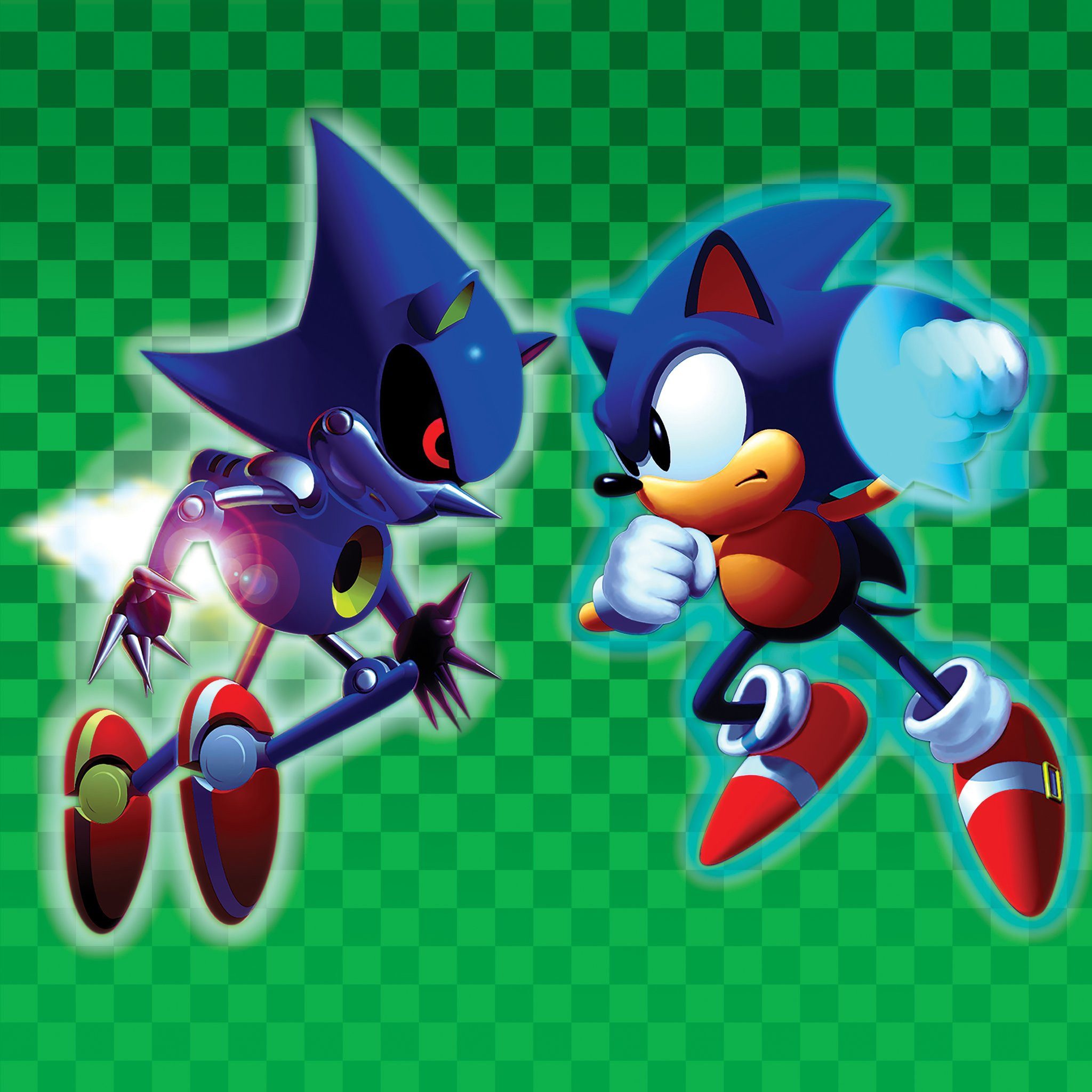 NAOFUMI HATAYA AND MASFUMI OGATA: Sonic CD (aka Sonic The Hedgehog
