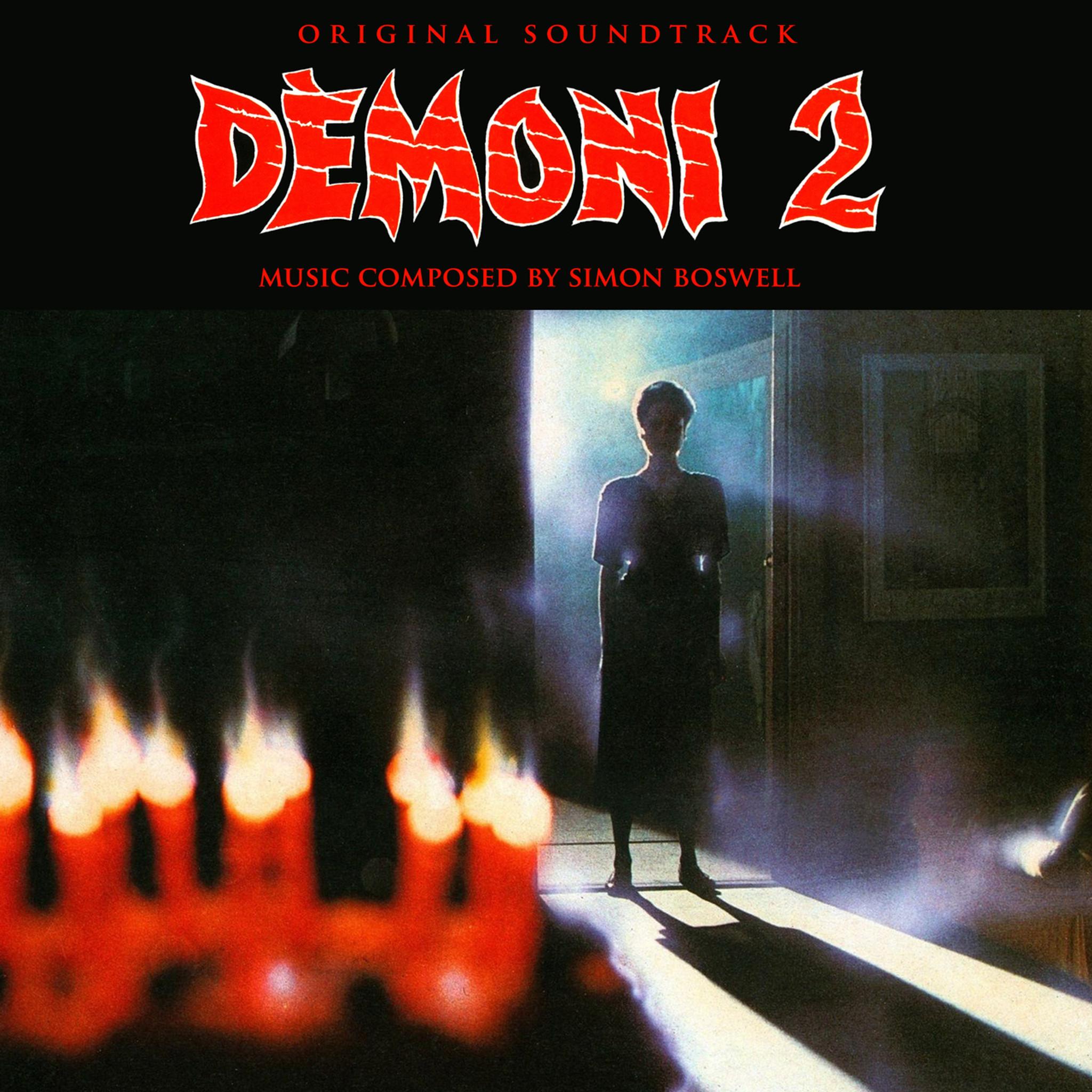 SIMON BOSWELL: Demons 2 (Original Soundtrack) (Red Vinyl) LP