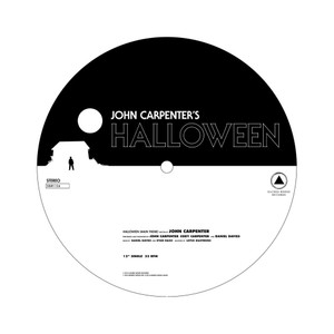 JOHN CARPENTER: Halloween b/w Escape from New York Picture Disc