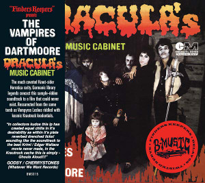 THE VAMPIRES OF DARTMOORE: Dracula's Music Cabinet CD