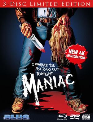 Maniac: Limited Edition Blu-Ray w/Bonus CD