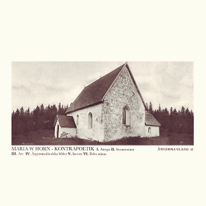 MARIA HORN: Kontrapoetik LP