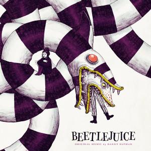 DANNY ELFMAN: Beetlejuice (Half Black & White) LP