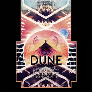 KURT STENZEL: Jodorowsky's Dune Original Motion Picture Soundtrack (Black Vinyl) 2LP