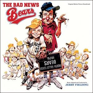 JERRY FIELDING: Bad News Bears (Original Motion Picture Soundtrack) LP