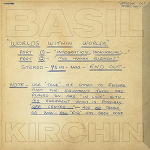 BASIL KIRCHIN: Worlds Within Worlds: Part I And II LP
