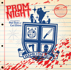 PAUL ZASA & CARL ZITTRER: Prom Night (Original Soundtrack) (Disco Acid Flashback Variant) LP