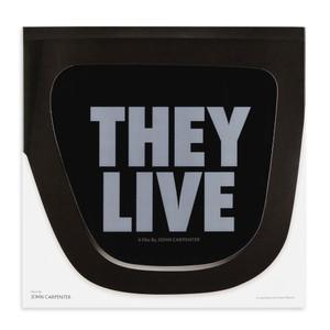 JOHN CARPENTER & ALAN HOWARTH: They Live (Original Motion Picture Soundtrack) LP