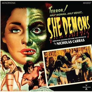NICHOLAS CARRAS: She Demons (Original Motion Picture Soundtrack) (Green Vinyl) LP+Poster