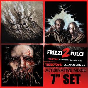 "FABIO FRIZZI: The Beyond Composer's Cut Alternative Mixes 3X 7"" Set"