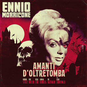 ENNIO MORRICONE: Amanti D'Oltretomba (Bloody Marble) LP