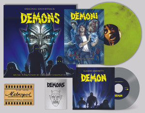 CLAUDIO SIMONETTI Demons (Original Soundtrack Demons Ultra Deluxe Box 35th Anniversary) Boxset