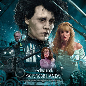 DANNY ELFMAN: Edward Scissorhands (Original Motion Picture Soundtrack) LP