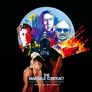 ROY BUDD: The Marseille Contract (Original Motion Picture Soundtrack) (Blue Vinyl) LP