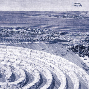 TIM STORY: Threads (Clear Orange) LP