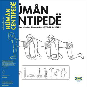 SAVAGE & SPIES: The Human Centipede OST (Blue Vinyl) LP